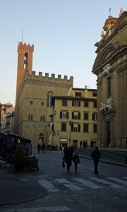 Il Bargello sunset